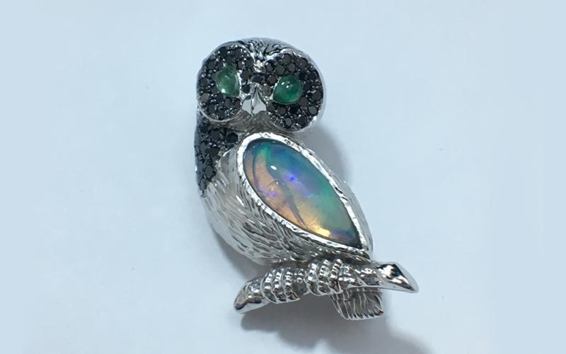 diamond bird